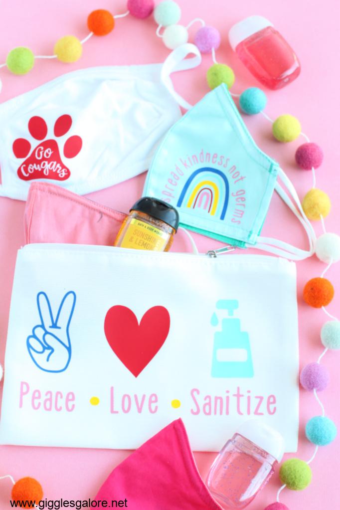 Cricut personalized essentials bag
