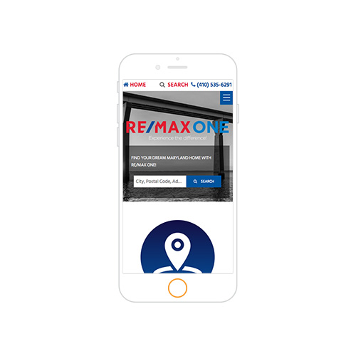 REMAX One Responsive Website-Portfolio