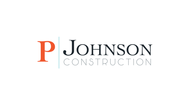 P Johnson Construction Branding Mark-2