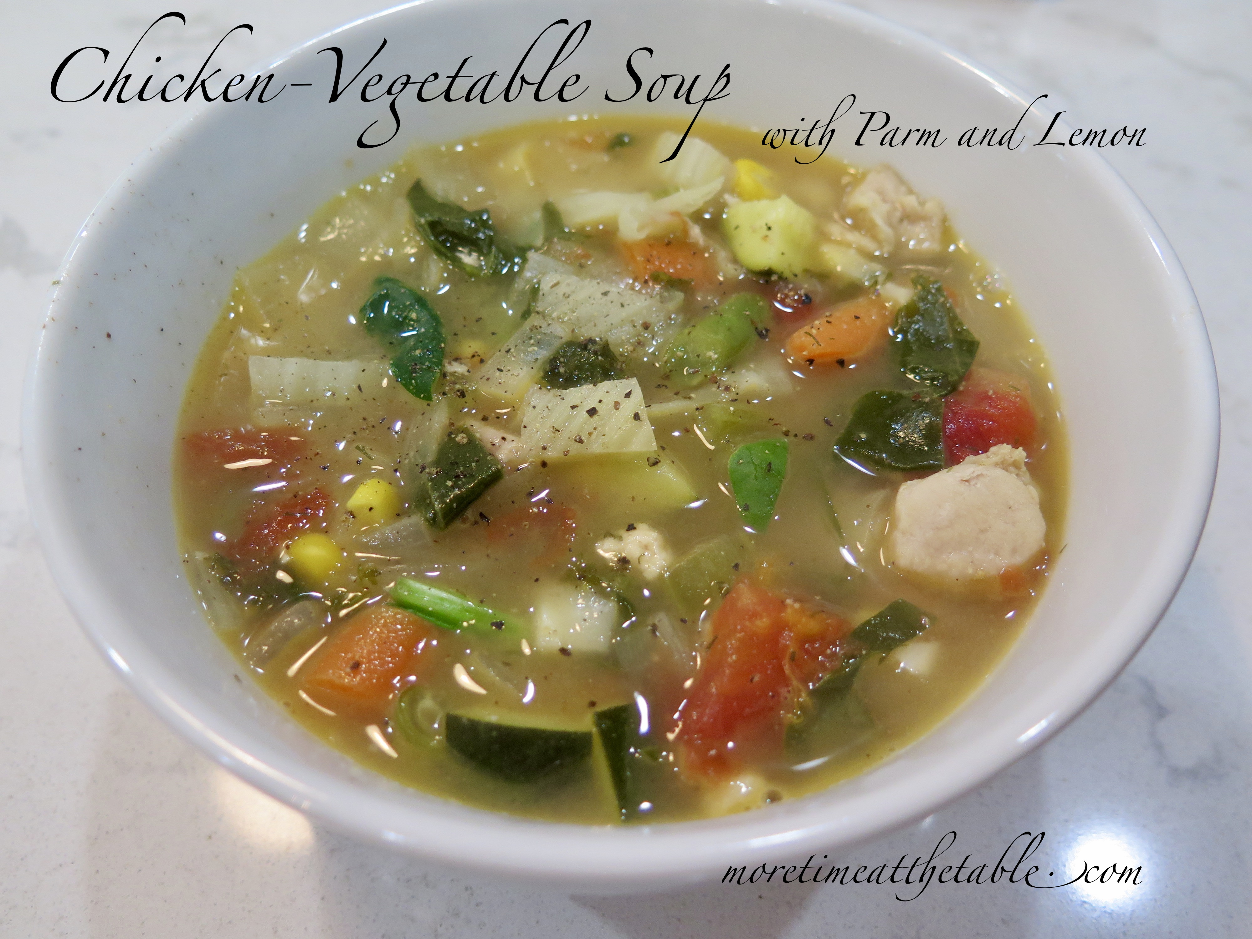 Phenomenal Chicken Vegetable Soup With Parm And Lemon Light And Fast Interior Design Ideas Apansoteloinfo