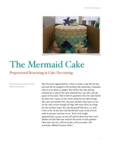 thumbnail of Proportional Reasoning Mermaid Cake Problem 3-5
