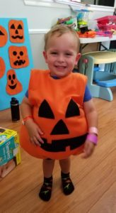 DIY Toddler Pumpkin Costume