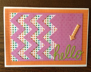 Mustache Card Front