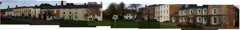 Panorama of Hingham Market Place