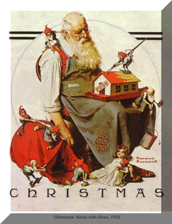 Santas Coming Moretown Artisans Sale