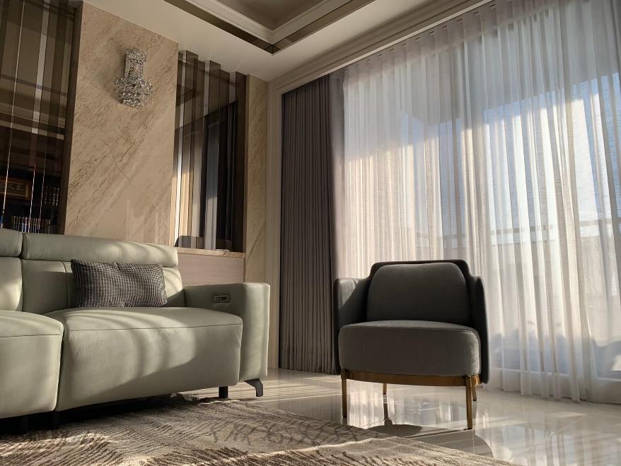 窗簾規劃找沐爾 北歐風 現代風 簡約風 日系風 客廳窗簾 落地窗簾 遮光窗簾 COULISSE HUNTERDOUGLAS