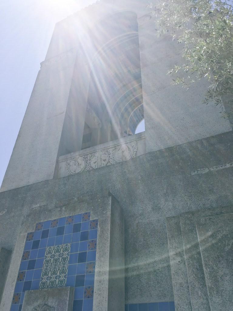 Top of Wrigley Memorial