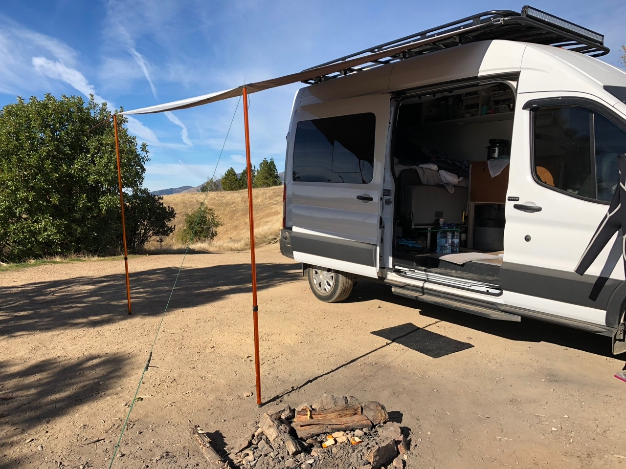 Affordable DIY Van Awning