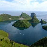 The volcanoes of the Kuril islands