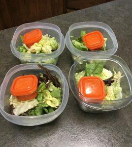 Meal Prep Salads - Authentically Amanda - www.mandamorgan.com