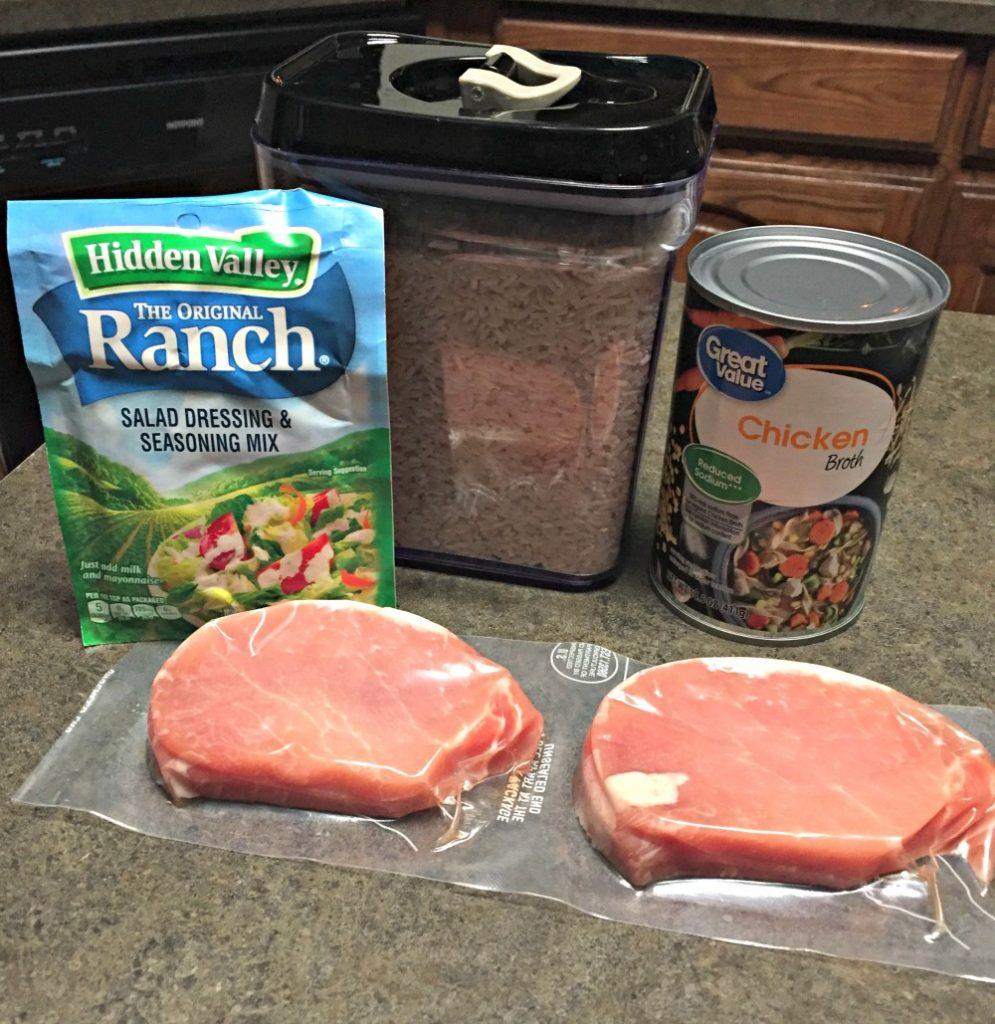 Ranch Pork Chops - Authentically Amanda - www.mandamorgan.com