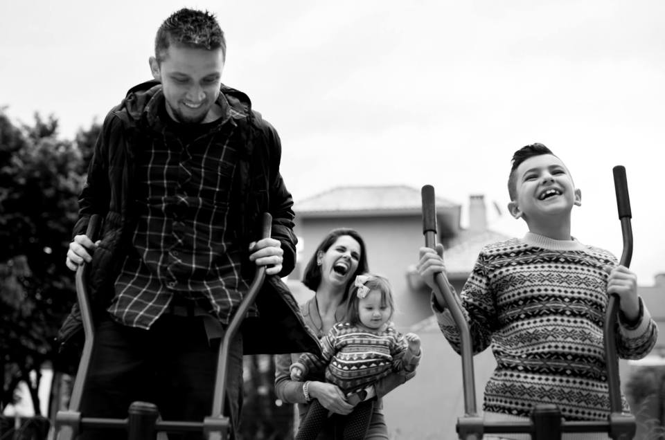 At home family photo session - London Documentary Family Photographer