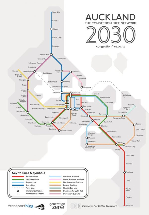 Auckland Congestion Free Network Proposal