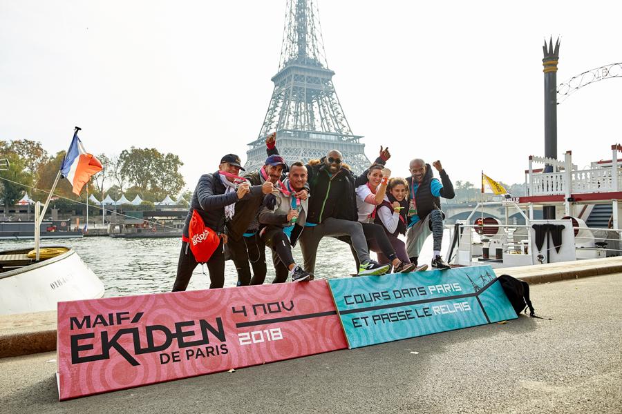 MAIF Ekiden de Paris 2018