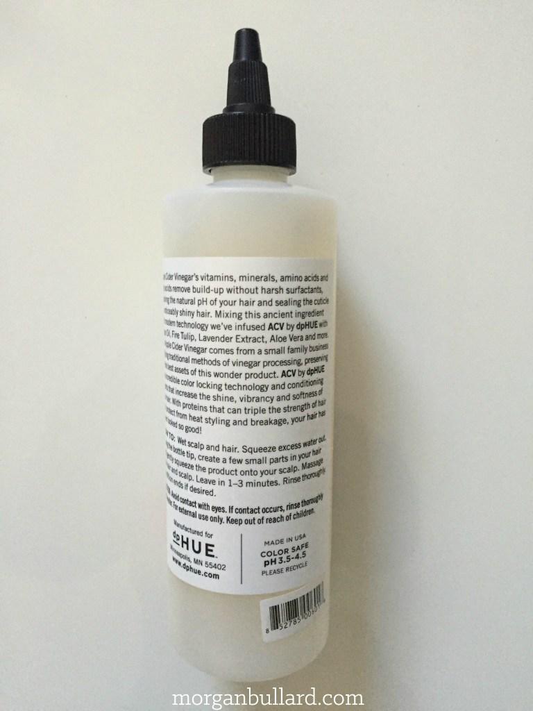 dpHUE Apple Cider Vinegar Rinse