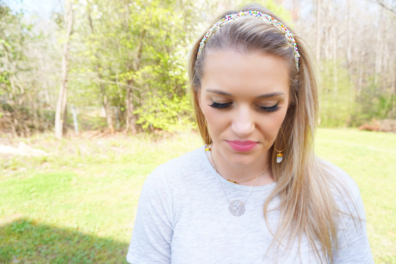 Headbands of Hope Confetti + Spring Neutrals with Pop of color