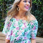 Mumu Casita Poppies & Cream Dress + My Birthday