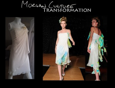 Morgan Culture Gown transformation 8
