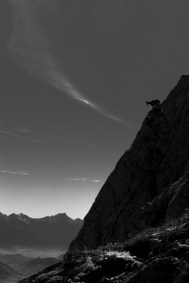 Accrobate des montagnes
