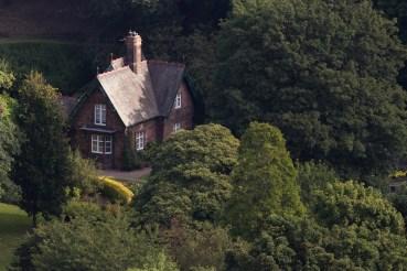Cette petite maison se situe dans le jardin de Princes Street, en plein cœur d'Edimbourg