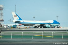Air Force One at SFO