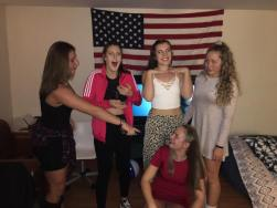 Halloween (we attempted to be the Spice Girls)