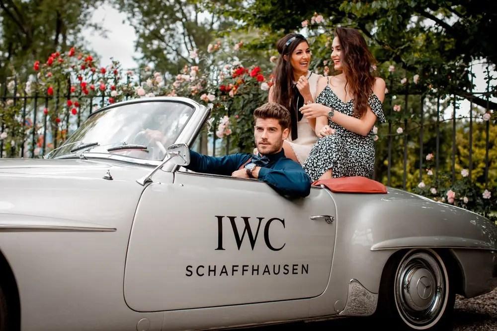 Une journée très 60's avec IWC et Mercedes Benz 5