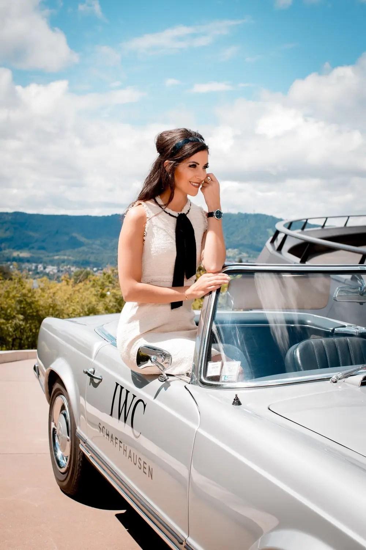 Une journée très 60's avec IWC et Mercedes Benz 10