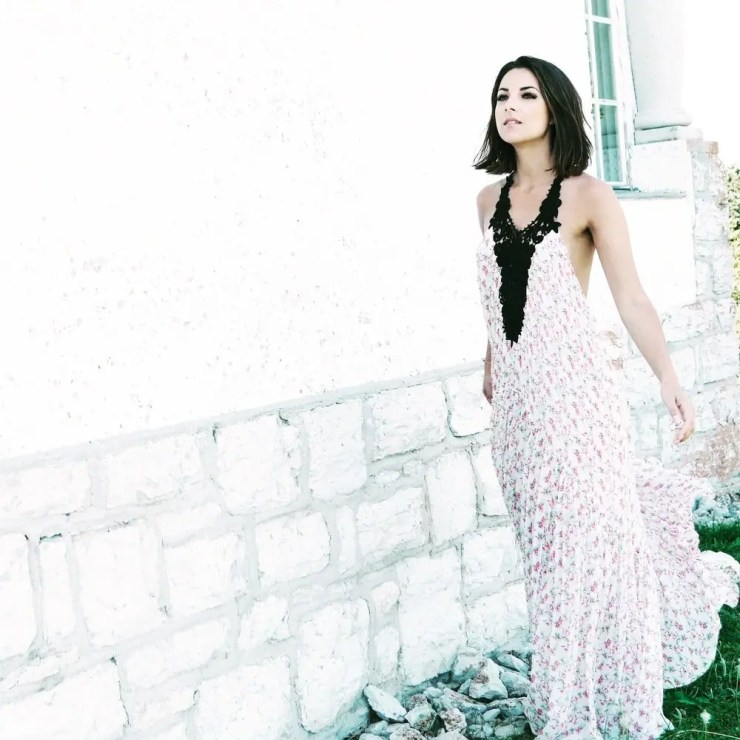 Robe fleurie de chez Zara
