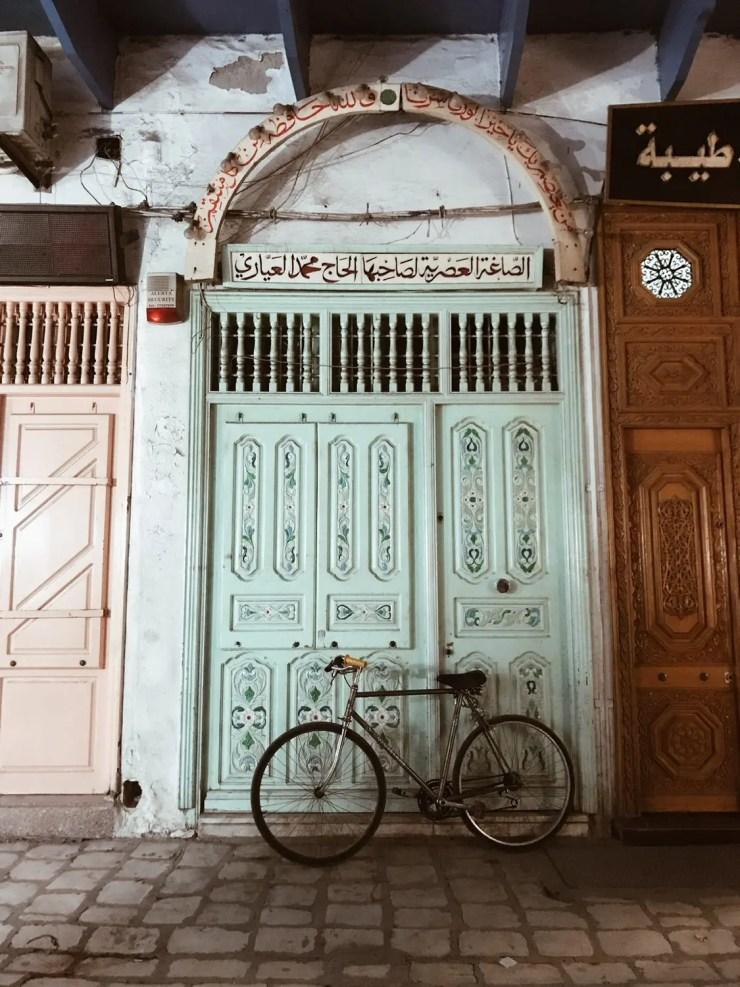 Medina Kairouan door Tunisia