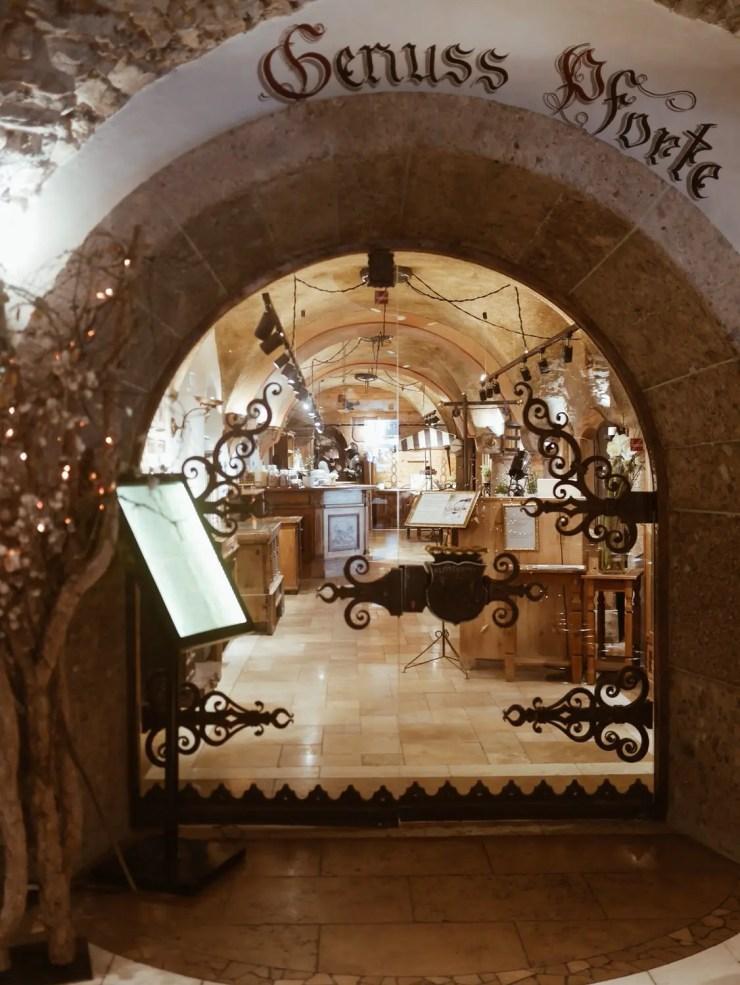 hotel klosterbräu entrée gourmet vital