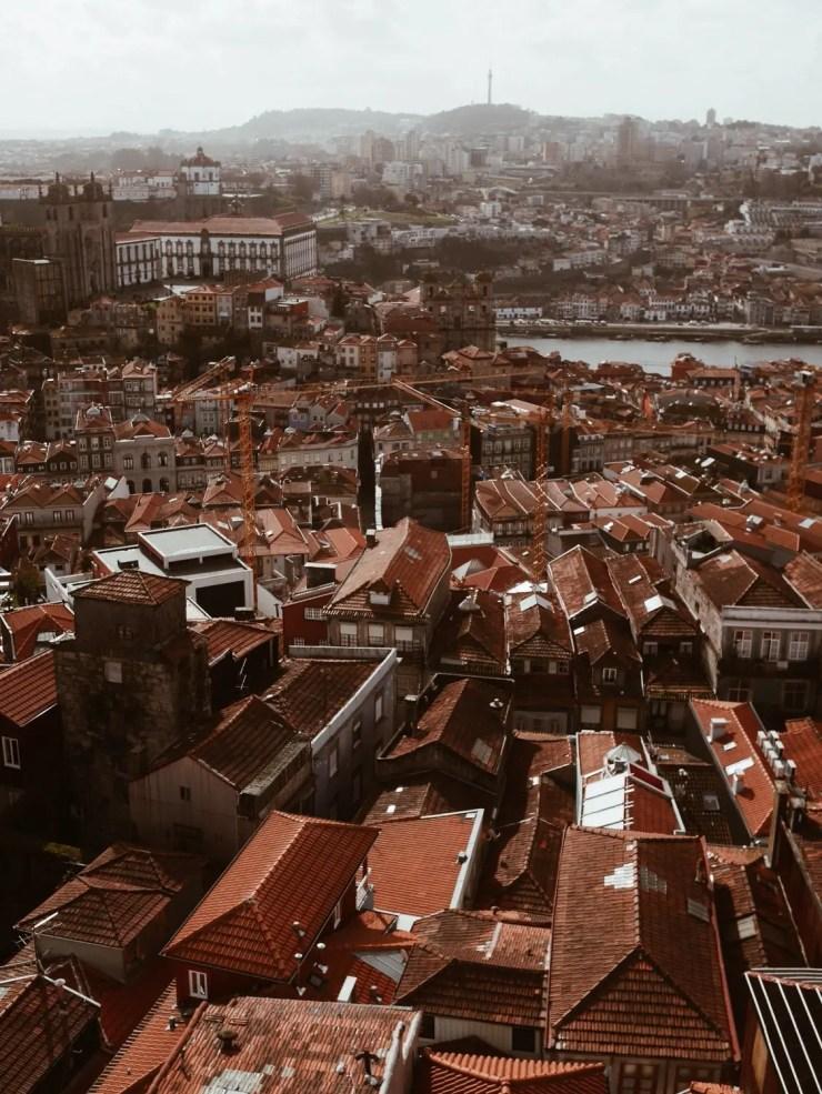 Porto vue rooftop portugal voyage bon plan