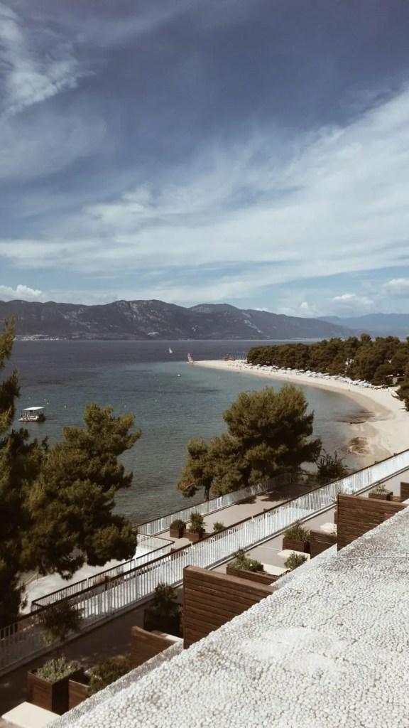 Club Med Gregolimano vue golf d'Eubée Olea Lounge