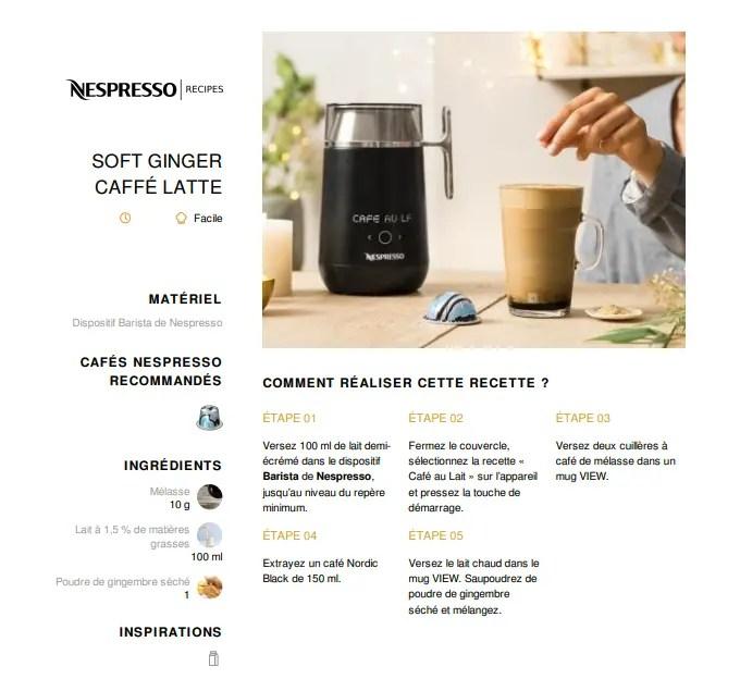 Soft Ginger Caffe Latte