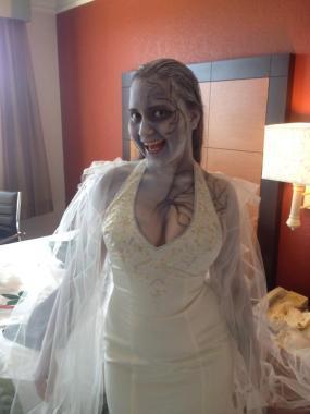 Zombie ghostbride