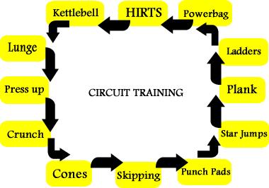Circuit Training   manit443