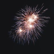 4th of july fireworks at newcomb hollow beach in wellfleet, ma