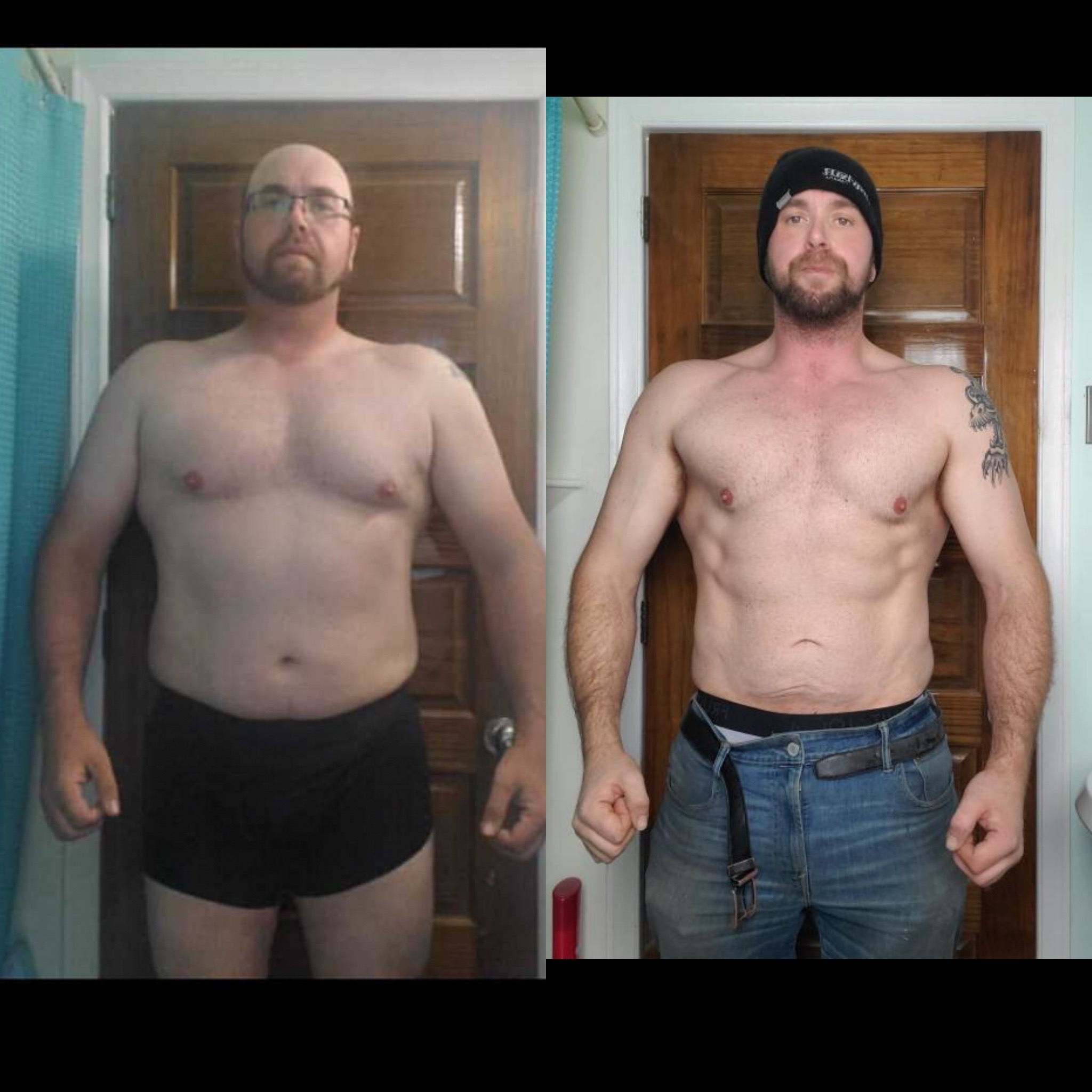 client dave front view transformation