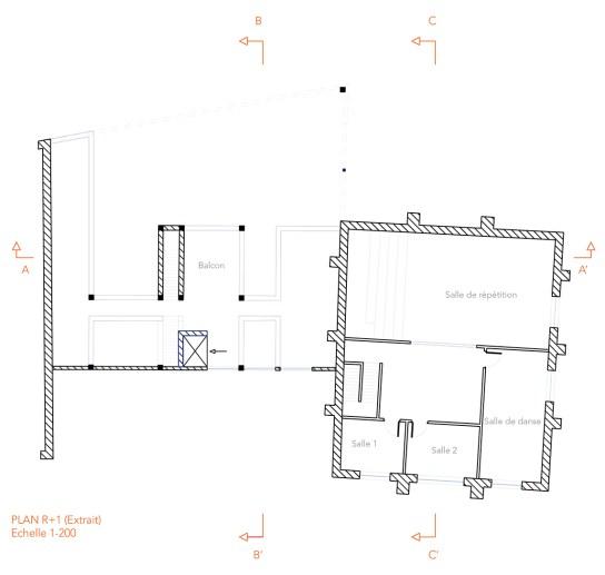 Plan R+1_Extrait