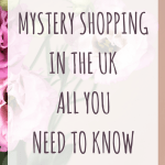 Mystery shopping in the UK all you need to know