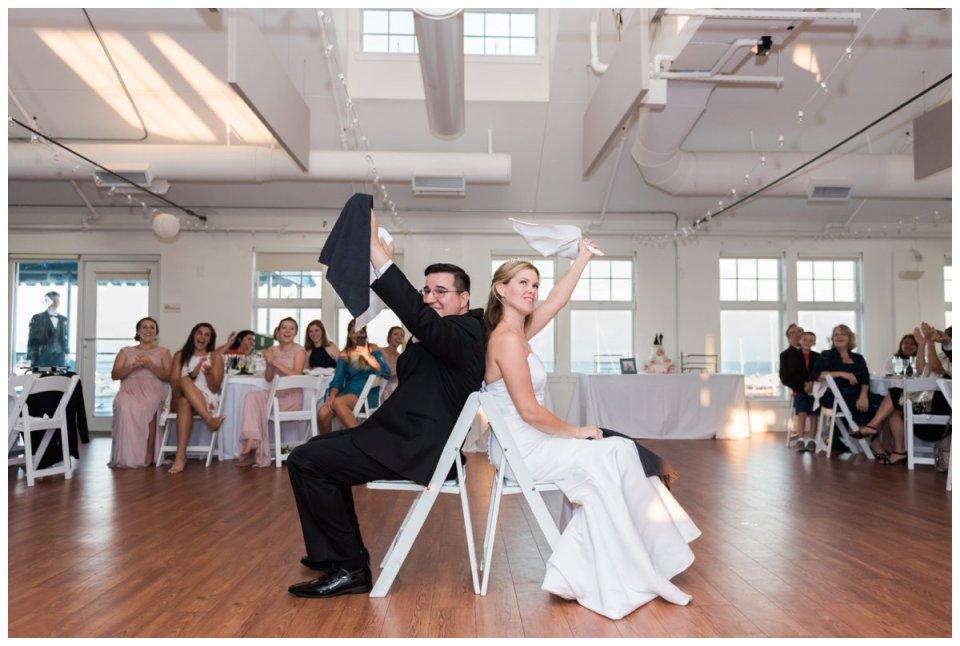 Duxbury bay maritime school wedding reception