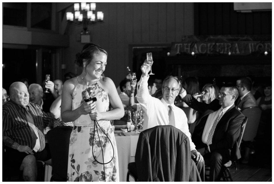 bridal toast Warren Conference Center Ashland MA