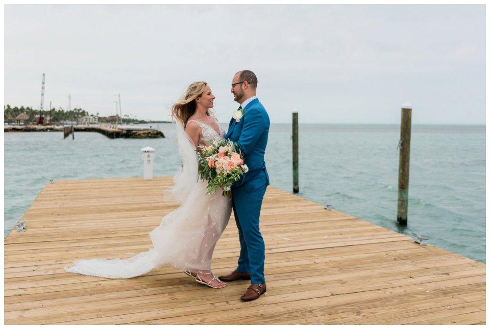first look at an amara cay wedding