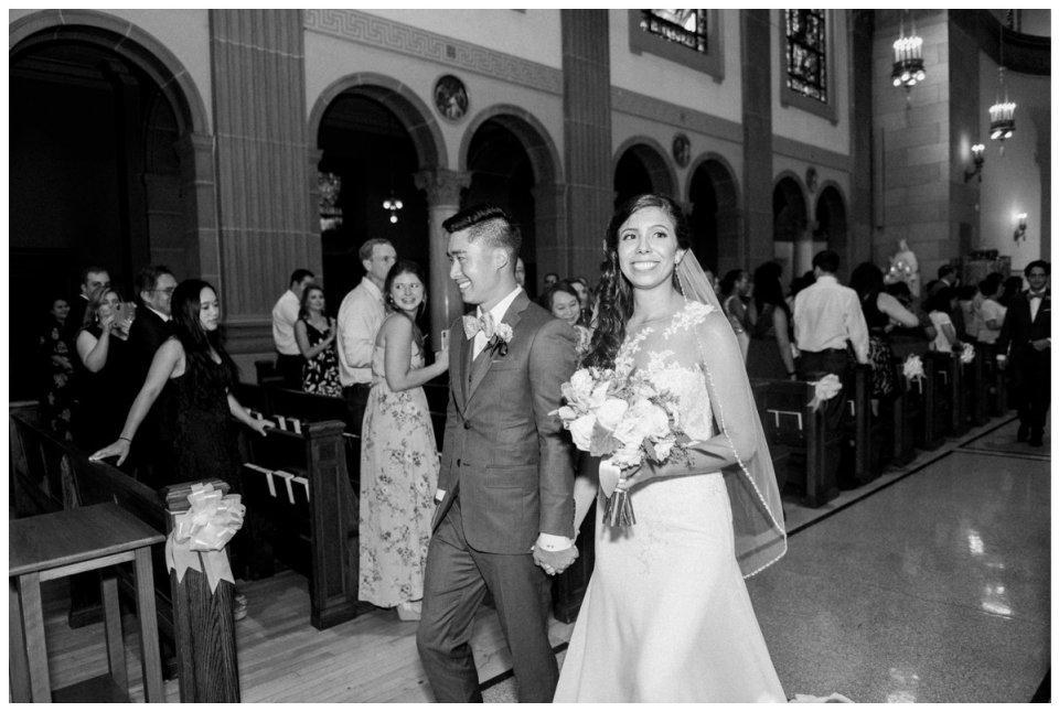 holy cross wedding photos