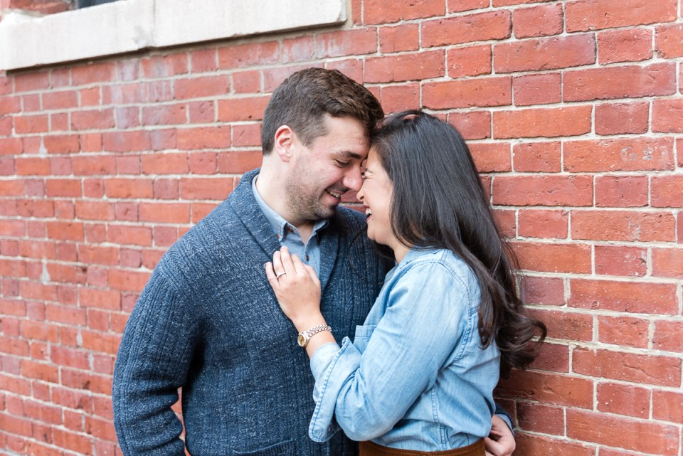 Boston engagement session locations- Beacon Hill