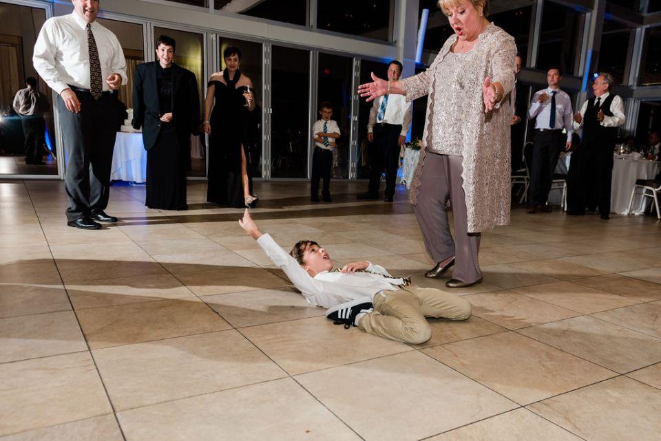 wedding guests dancing Lake Pavilion West Palm Beach