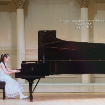 Allice Wang, Weill Recital Hall (Carnegie Hall)