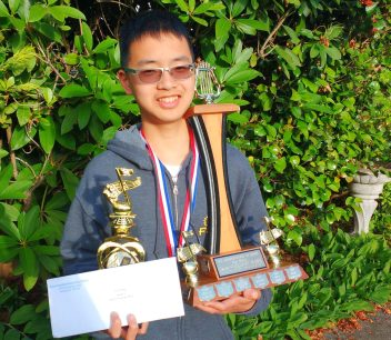 Eric Zhang, B.C. Provincials Winner, Junior A, 2018