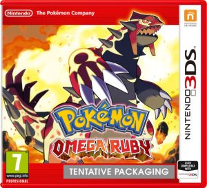 1. Pokemon Omega Ruby for the 3Ds