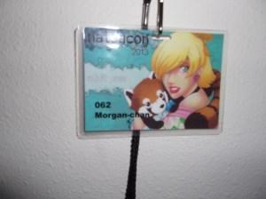 My lovely badge.